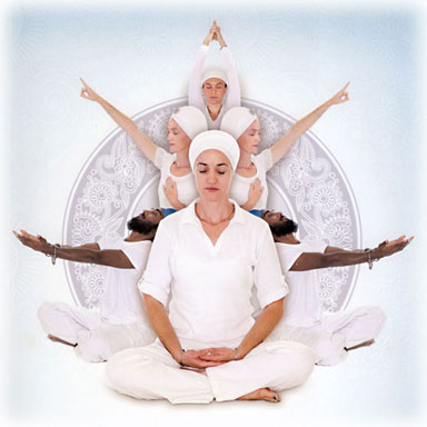 Kundalini yoga students